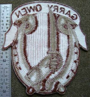 subdued pocket patch for the 7th Cavalry with their motto Garry