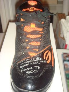 GARY SHEFFIELD Game Used Cleats Shoes Auto Autograph Signed Detroit