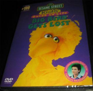 Sesame Street Big Bird Gets Lost Original DVD