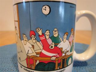 Far Side Gary Larson Collectible Coffee Mug Cup Mr. Osborne Vintage