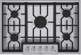 Bosch NGM8054UC 30 Natural Gas Cooktop Stainless Steel