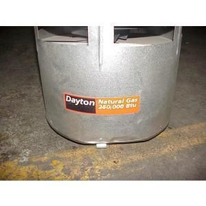 Dayton 250 000 BTU Space Heater Gas 70240