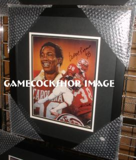 Heisman Trophy Legend George Rogers Art Gamecock Fans Must L K