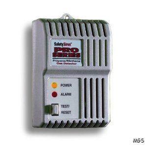 Safety Siren Combustible Gas Propane Methane Detector HS80501 Methane