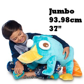 37 Jumbo Giant Huge  Phineas Ferb Perry Plush Stuffed