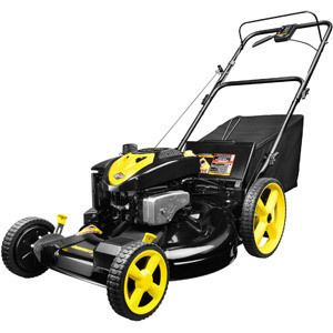 22 Mulch Bag Side Discharge Front Wheel Drive Gas Powered Lawn Mower