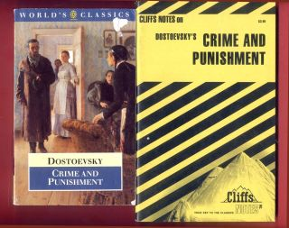 Crime and Punishment by Fyodor Dostoyevsky & Cliff Notes study guide