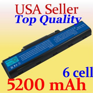 New Laptop 6 Cell Battery for Gateway NV52 NV53 NV54 NV56 NV58 NV59