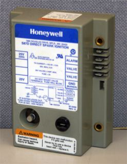 Honeywell S87D Direct Spark Ignition Control Module