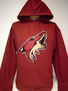 New NHL Phoenix Coyotes Dark Red Pullover Hoodie Hooded Sweatshirt