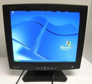 Gateway FPD1730 17 inch LCD Monitor Flat Panel Display VGA 780O