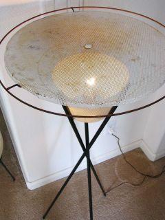 Mid Century Modern Gerald Thurston Lightolier Floor Lamp Eames Era