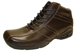GBX Veneto 133202 Mens Dark Brown Leather Comfort Lace Up Casual