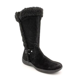 Karen Scott Gaby Womens Size 6 Black Synthetic Fashion Mid Calf Boots