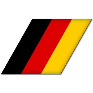 BMW M Power Tri Color Germany Flag Car Styling Sticker