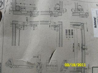 German Hardware Folding Door and Slide Complete Pack