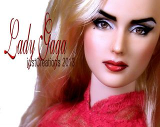 Lady Gaga OOAK Repaint by Justcreations
