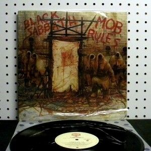 Black Sabbath Mob Rules 1981 Vinyl LP Near Mint Warner Bros BSK 3605