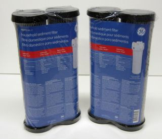 PAK of GE Water Filter FXWTC Household Sediment Carbon Charcoal