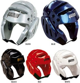 Karate Tae Kwon do Protective Sparring Head Gear Guard Helmet