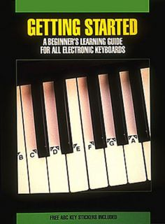 Getting Started Electronic Keyboard Beginner Lessons Hal Leonard Book