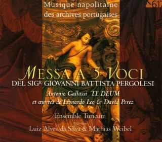 Messa A 5 Voci Del Sigr Giovanni Battista Pergolesi New CD