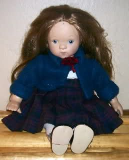 MUNECAS GELI DOLL RED HAIR BLUE EYES FRECKLES 13