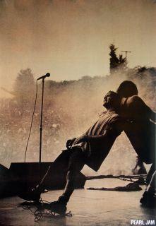 Pearl Jam Giant Music Poster Eddie Vedder on Stage
