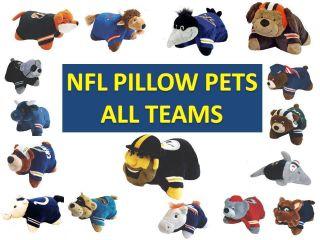 Pillow Pet NFL Football Pillow Pets NFL Football Team Nascot Pillow