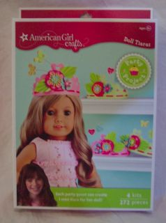 American Girl Crafts Doll Tiaras Party Project Kit Birthday
