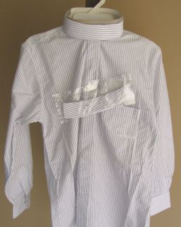 cambrai ponies girls english horse show riding shirt white with