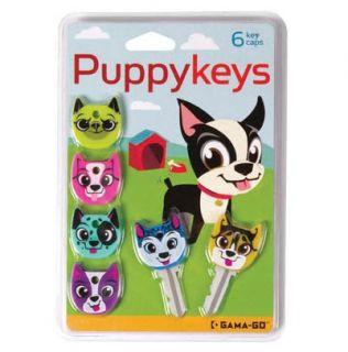 Gama Go Puppy Keys Silicone Dog Key Caps Covers 6pk