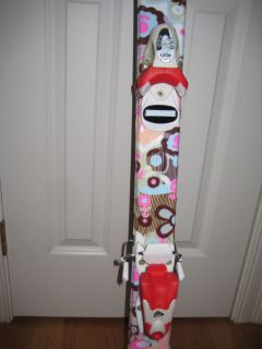 Roxy Sweetheart Girls Skis w/ Bindings 130cm Used Great Shape! No