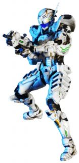 Vanquish Sam Gideon Play Arts Kai Action Figure