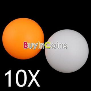 10 Ping Pong Balls Train Table Tennis Sports Games New