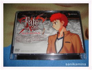 fate stay night 1 japan dvd anime japan version