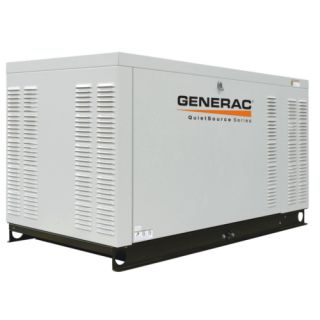 Generac Power Systems Quietsource Series 27 KW Residential Power
