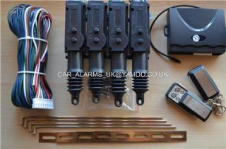 Sale Universal Remote Central Locking Kit Fits All Cars