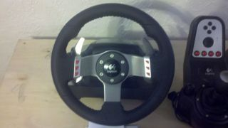 Logitech G27 Racing Steering Wheel Xbox 360 w XCM Adapter