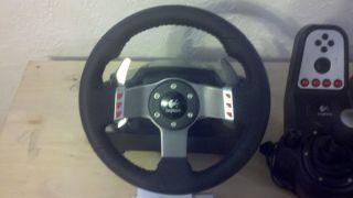 Logitech G27 Racing Steering Wheel Xbox 360 w XCM Adapter