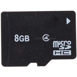 New 8GB 8 GB Micro SD MicroSD SDHC TF Memory Card 8g 8 G Case Adapter