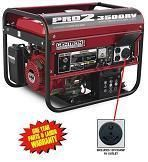 New Gentron Pro2 3500 Watt Generator RV Model Electric Start GG3500RV
