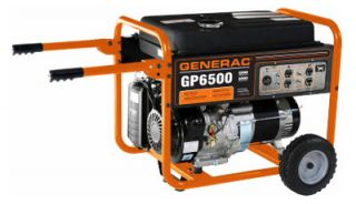 6500 8000w GP Series Portable Electric Generator with Wheel Kit