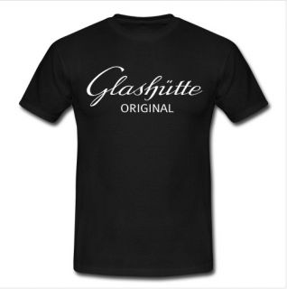 New Glashutte Original Personalized Custom Classic Black T Shirt