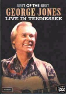 George Jones Live Best DVD New