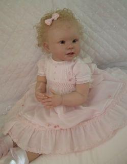 Baby Sunshine Reborn Girl Toddler Doll Bonnie by Linda Murray