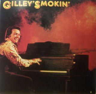 Mickey Gilley Gilleys Smokin Vinyl LP US Press
