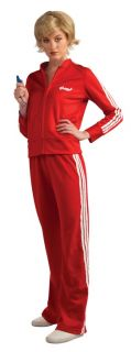 Glee Sue Sylvester Red Track Suit Costume w Wig Adult Womens