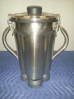 Waring Commercial Blender CB15 1 Gal Food Lab Stainless Steel