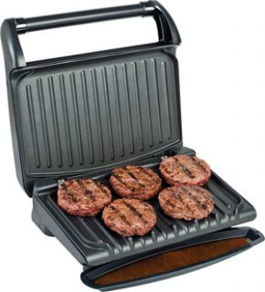 George Foreman GRV80 Contemporary Indoor Electric Grill